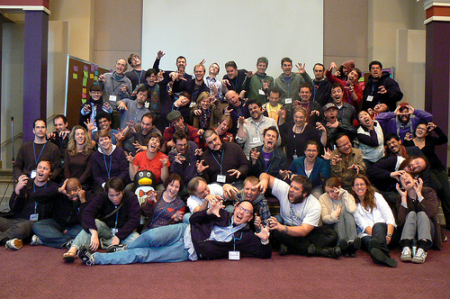 09 Dev Summit Group Shot Scary