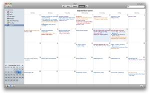 Message Calendaring