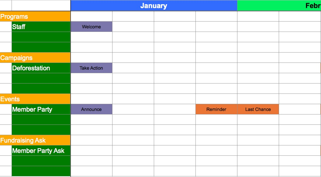 Social Media Toolkit Released By Greenlining - Nonprofit communications calendar template