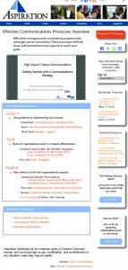 Aspiration Learning Resources Page Mock Up
